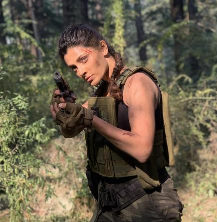 Actor Saiyami Kher, who will be seen next in the Nagarjuna-starrer 'Wild Dog',  hopes to crack the Ironman challenge in 2022 - The Hindu