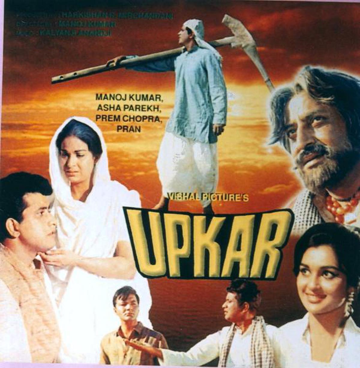 Many films wrote an ode to the Indian farmer, Upkar was one of them