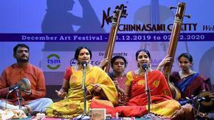 Ranjani-Gayathri's challenging dwiraga RTP
