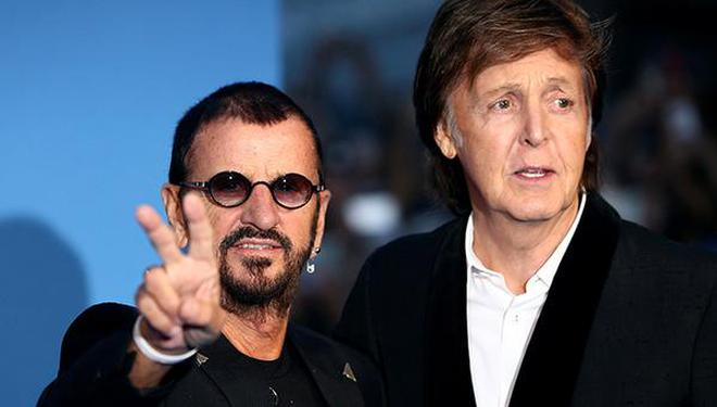 Ringo Starr Left With Paul McCartney File Photo