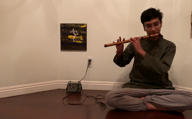 The Hindu Margazhi Classical Music Competition: Nithin Parthasarathy, third prize in Flute, 13-19 years
