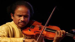 Music has a healing quality: L Subramaniam