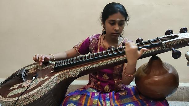 The Hindu Margazhi Classical Music Competition: Harini Raguraman Iyer, third prize in Veena, 0 to 12 years