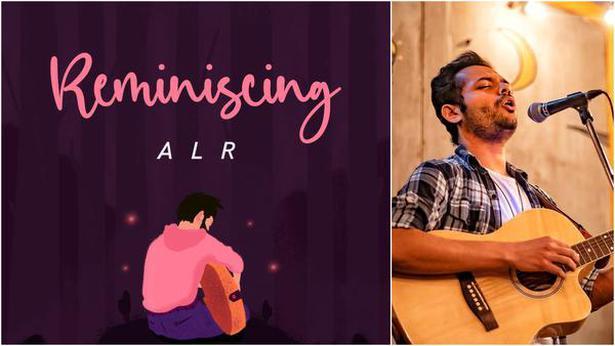 Album artwork and (right) Abhilash LR