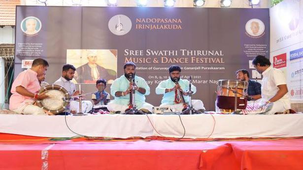 A fête in Irinjalakuda celebrated the versatility and genius of Swathi Thirunal