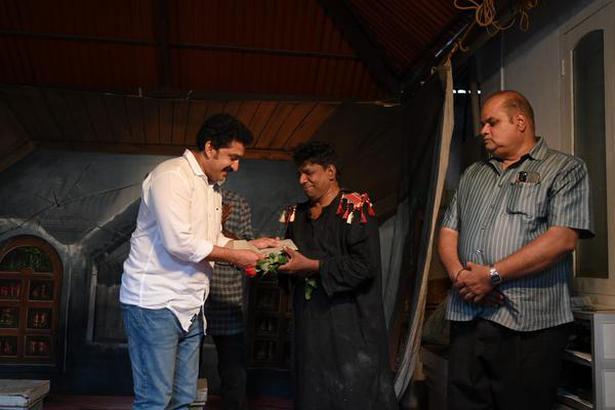 Actors Santosh Keezhattoor and Sunil Sugatha