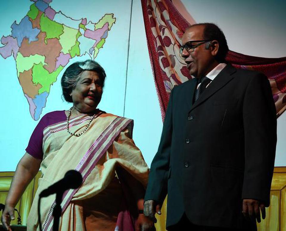 A play on Nani Palkhivala