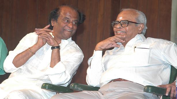 Rajinikanth: sad that Balachander is not with us