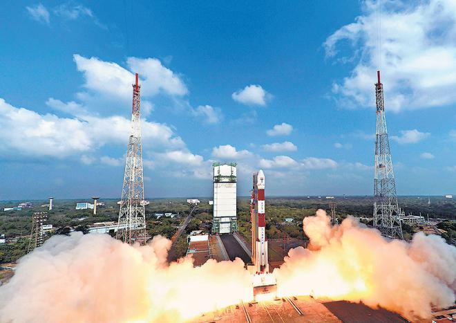 ISRO launches 104 satellites in one go, creates history