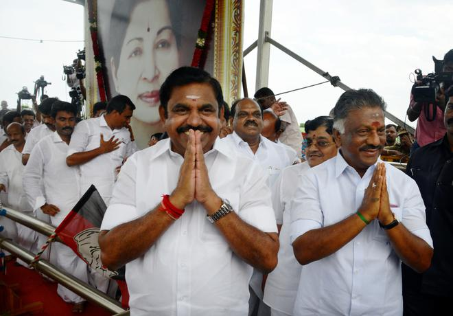 Image result for O Panneerselvam speaks Baahubali lines in TN assembly