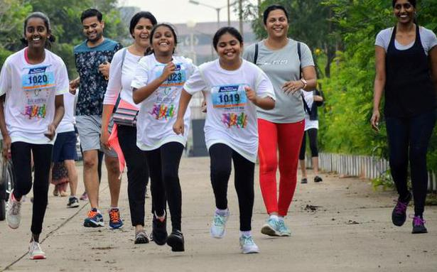 Helping hand to a friend: Virtual fund-raising event 'Run for a Better Future'