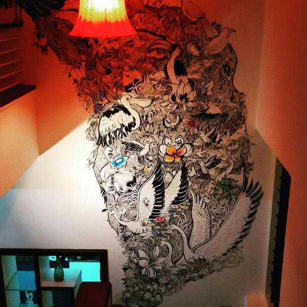 Vishnu Balal's wall art