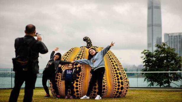 New sculpture park brings art to Hong Kong's harbour