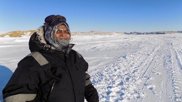 Mangala Mani on her Antarctica expedition
