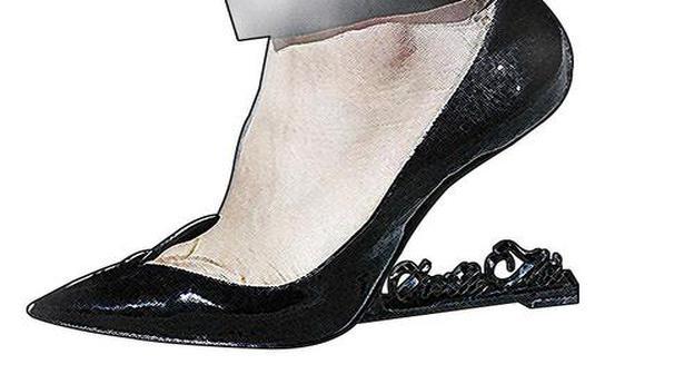 53765ccb692c1 Saint Laurent no-heel shoe - The Hindu