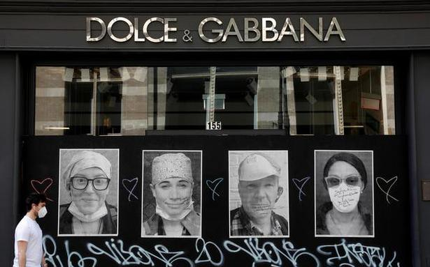 Dolce & Gabbana launches catwalk of the COVID-19 era