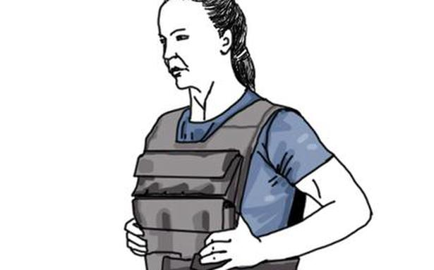 Improve your workout with the weighted vest