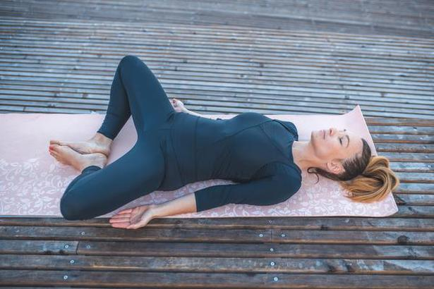 Yoga For Immune System | Yoga poses to strengthen immune system - Supta Baddha Konasana (Reclined Butterfly Pose)