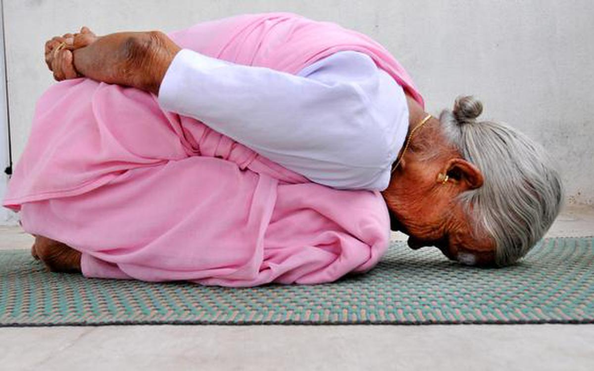 Nanammal, the 98-year-old yoga instructor, on her the secret of her