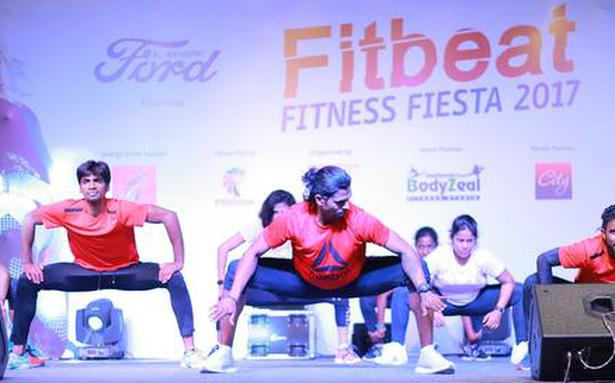 Getting fit at the Fitbeat Fitness Fiesta