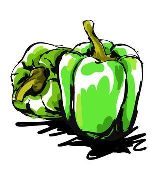 Green pepper / capsicum