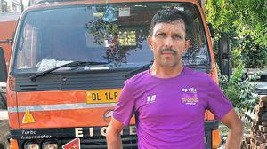 The trucker who runs marathons