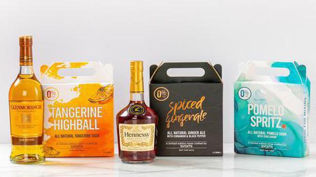 Three make a party: Moët Hennessy x Svami mixers