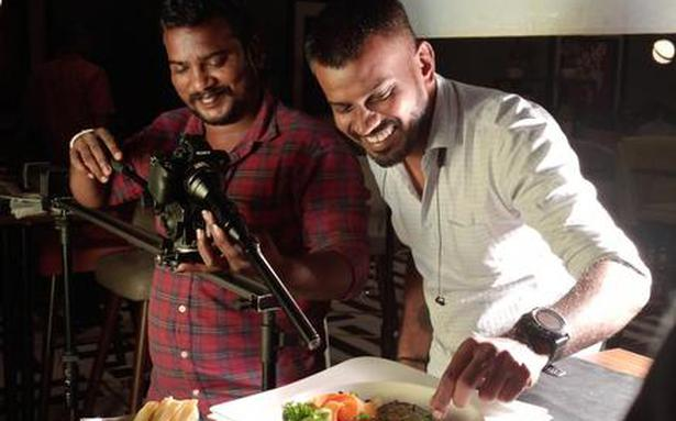 The remote food photographer from Chennai