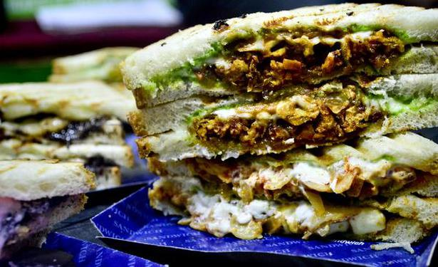 A multi-layered love affair with sandwiches