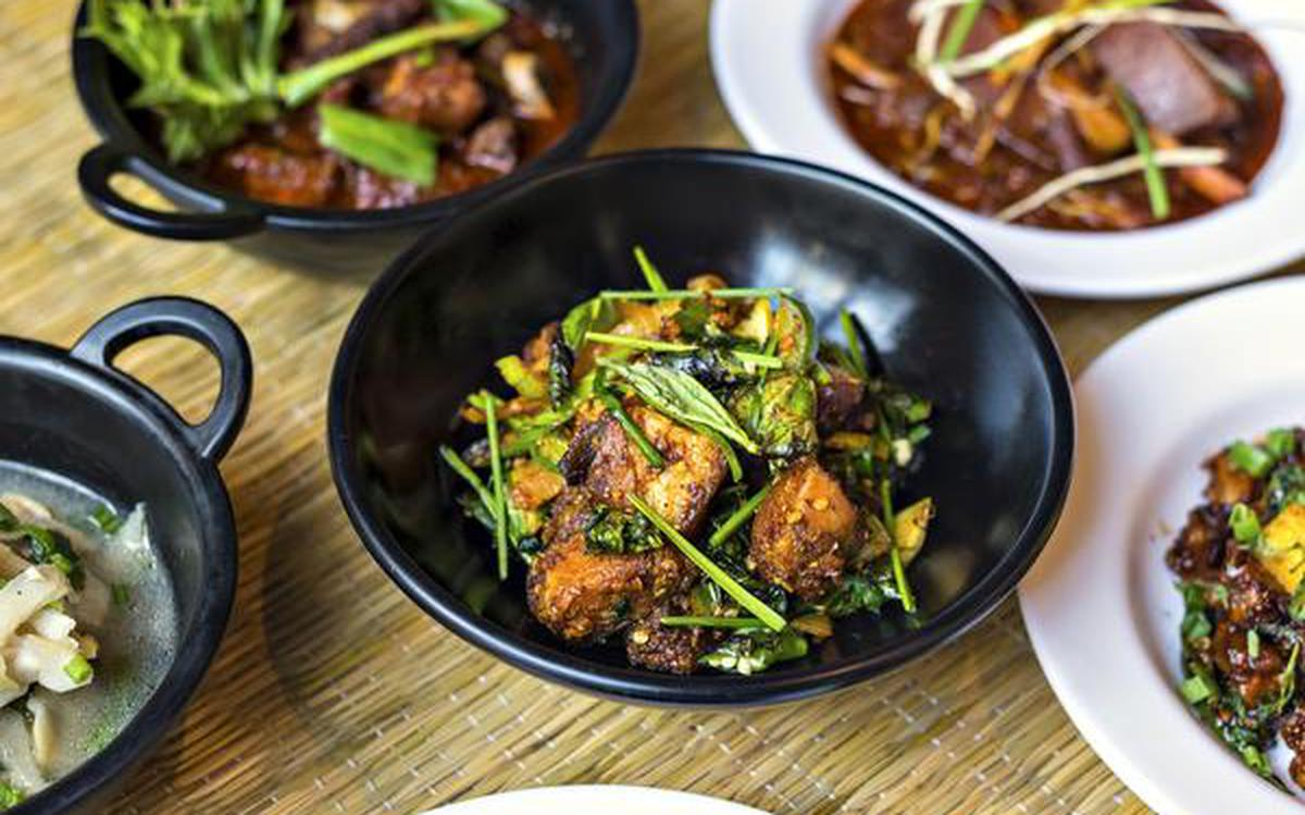 Fiery Flavourful And Herbilicious The Hindu