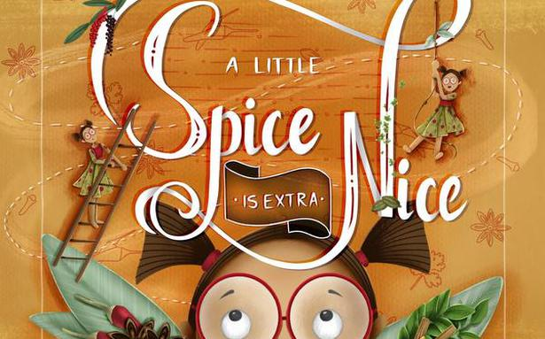 Children's book 'A Little Spice is Extra Nice' introduces kids to Kochi's Mattancherry spice market and shows them how spices are made
