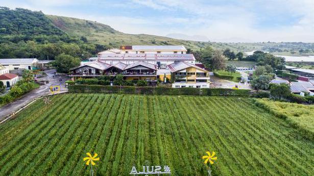 Sula's wine route