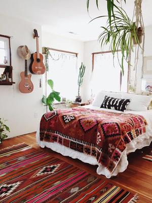 Decorate it the Bohemian way