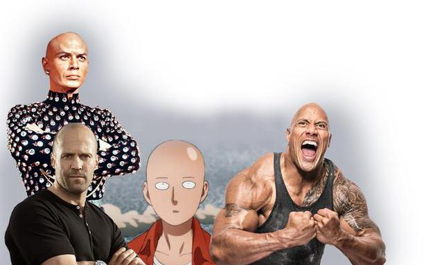 Bald, the new black