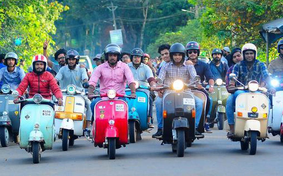 Vintage And Classic Scooters Club A Community In Kerala With A Drive For The Bygone Two Wheeler The Hindu