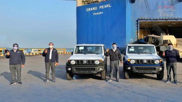 Maruti Suzuki commences export of the Jimny from India