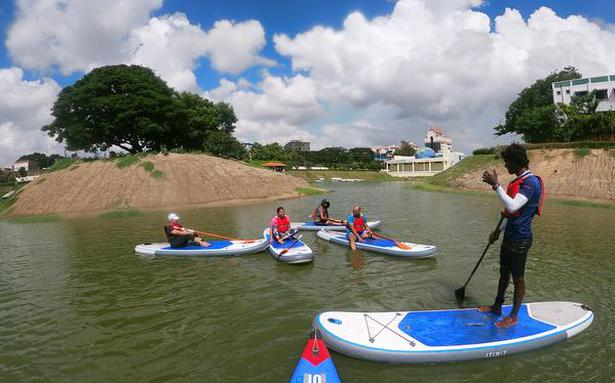 Surf Turf brings stand up paddling and kayaking to the Chetpet Ecopark