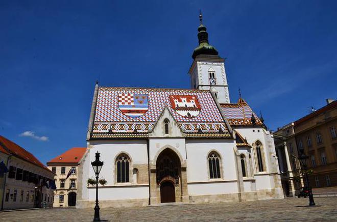 Zagreb in croatia the city where romance reigns the hindu st marks church altavistaventures Images