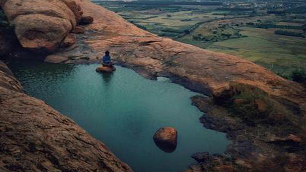 The stunning hills of Madurai