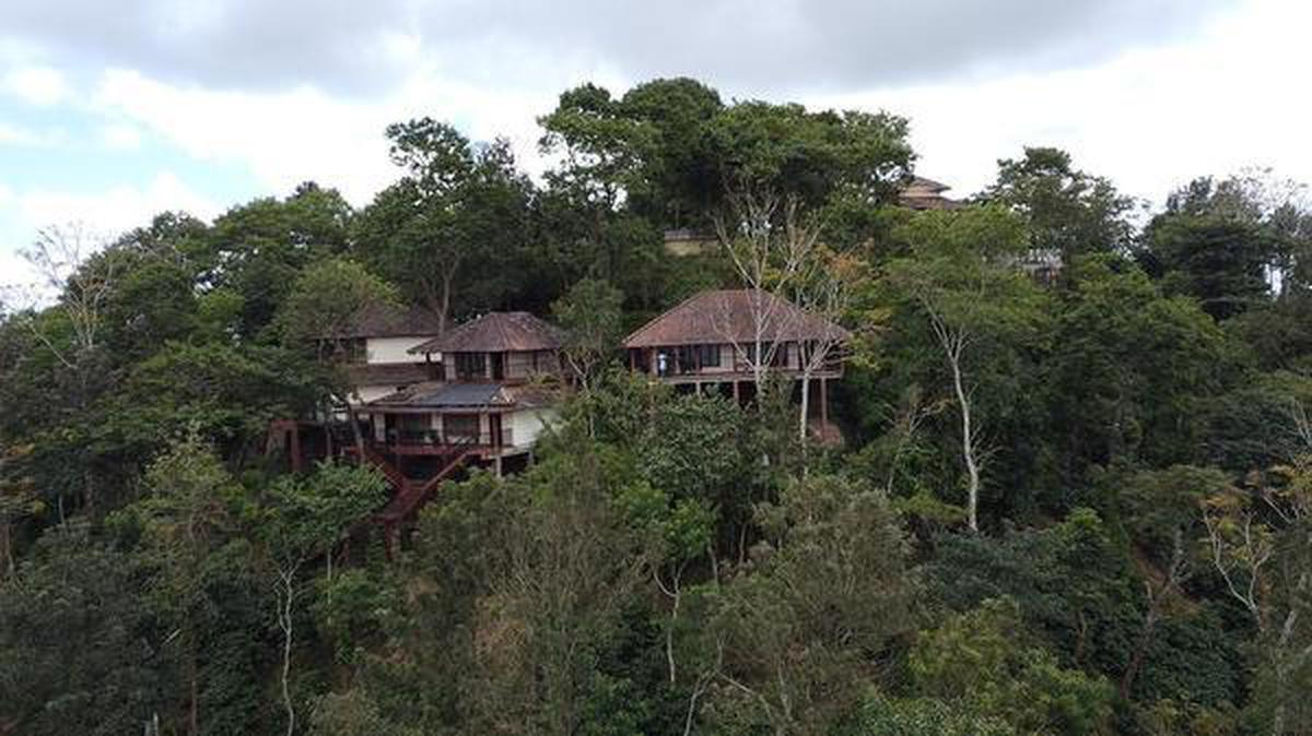 Picturesque Porcupine Castle in Coorg is situated on the highest point in the property