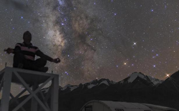 Stargazers have much to look forward to thanks to lower pollution levels and clearer skies due to the lockdown - The Hindu