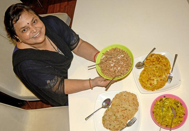 Try these easy to make recipes the hindu sudha rajendra prabhu with recipes she made in visakhapatnam photo cv subrahmanyam forumfinder Gallery
