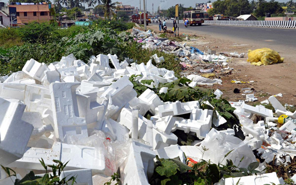 Not just a ban on plastic, regulate thermocol too' - The Hindu