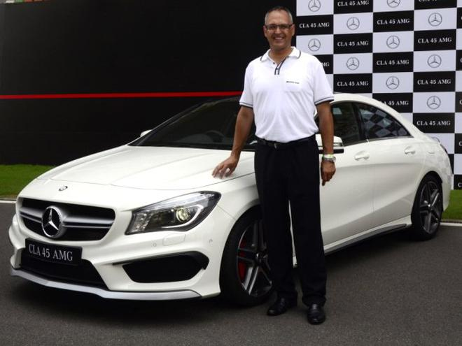 Superior A 2014 Photo Of Eberhard Kern, Managing Director And CEO, Mercedes Benz  India