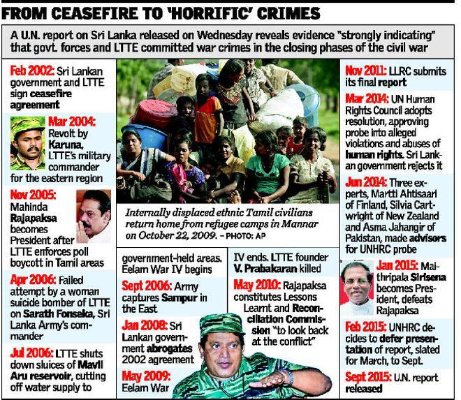 Sri Lanka Promises Due Attention To Un Report International
