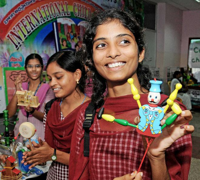 Children Showcase Talent At Expo The Hindu