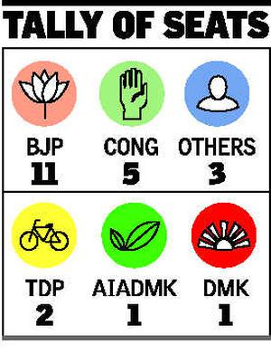 Tdp Bags Two Seats In Andaman Polls The Hindu