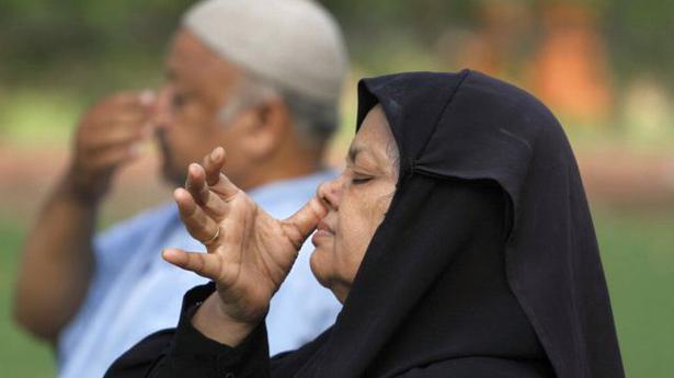 Image result for yoga muslim woman