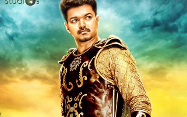 """Puli Official Poster """"Puli"""" offic..."""