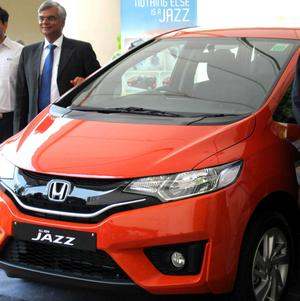 Honda Launches New Jazz In Hyderabad